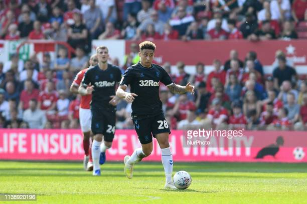 Marcus Tavernier of Middlesbrough during the Sky Bet Championship match between Nottingham Forest and Middlesbrough at the City Ground, Nottingham on...