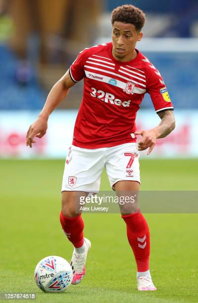 Marcus Tavernier of Middlesbrough during the Sky Bet Championship match between Sheffield Wednesday and Middlesbrough at Hillsborough Stadium on July...