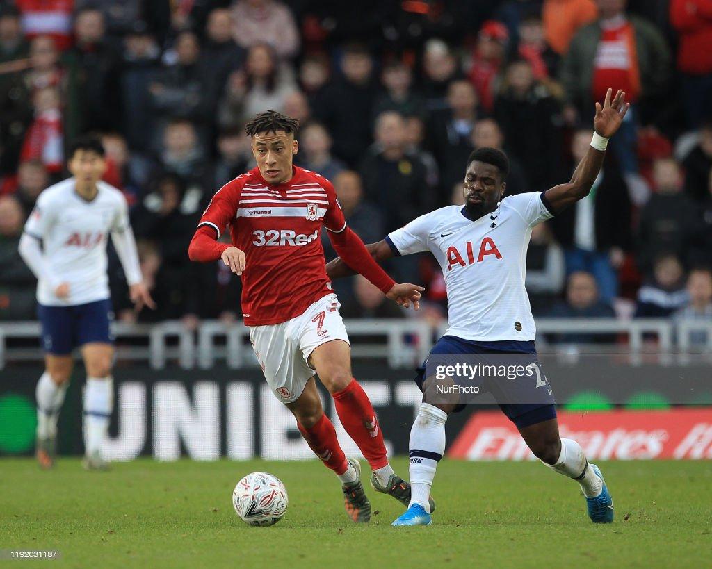 Middlesbrough FC v Tottenham Hotspur - FA Cup Third Round : News Photo