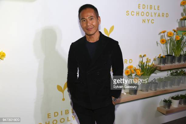 Marcus Teo attends Edible Schoolyard NYC 2018 Spring Benefit at 180 Maiden Lane on April 16 2018 in New York City