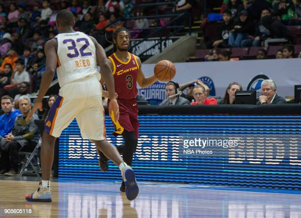 Marcus Thornton of the Canton Charge dribbles the ball against the Northern Arizona Suns during the NBA GLeague Showcase on January 12 2018 at the...