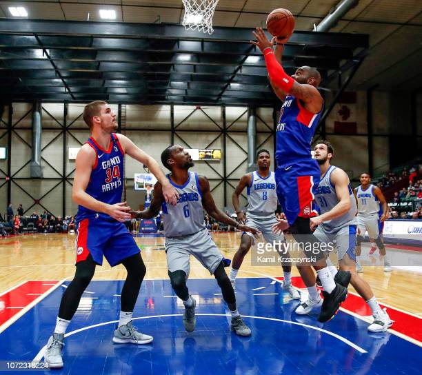 Marcus Thornton of the Grand Rapids Drive shoots against the Texas Legends on December 12 2018 at DeltaPlex Arena in Grand Rapids Michigan NOTE TO...