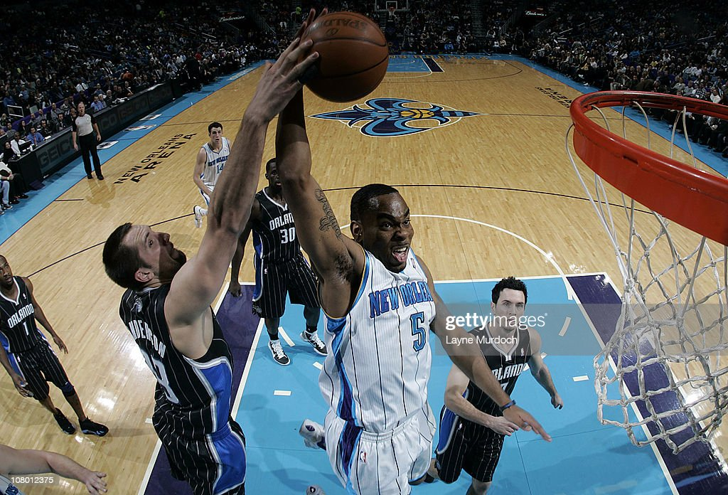 Orlando Magic v New Orleans Hornets