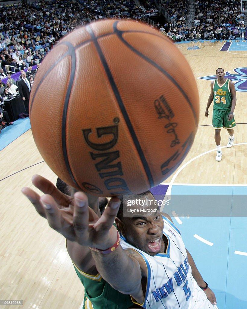Utah Jazz v New Orleans Hornets
