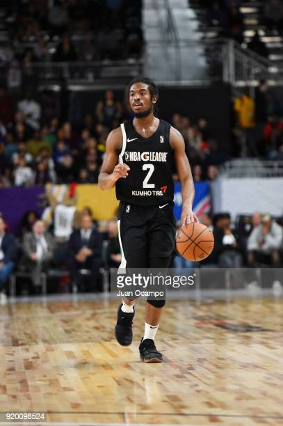 Marcus Thornton of the USA Team handles the ball against the Mexico National Team during the 2018 NBA G League International Challenge presented by...