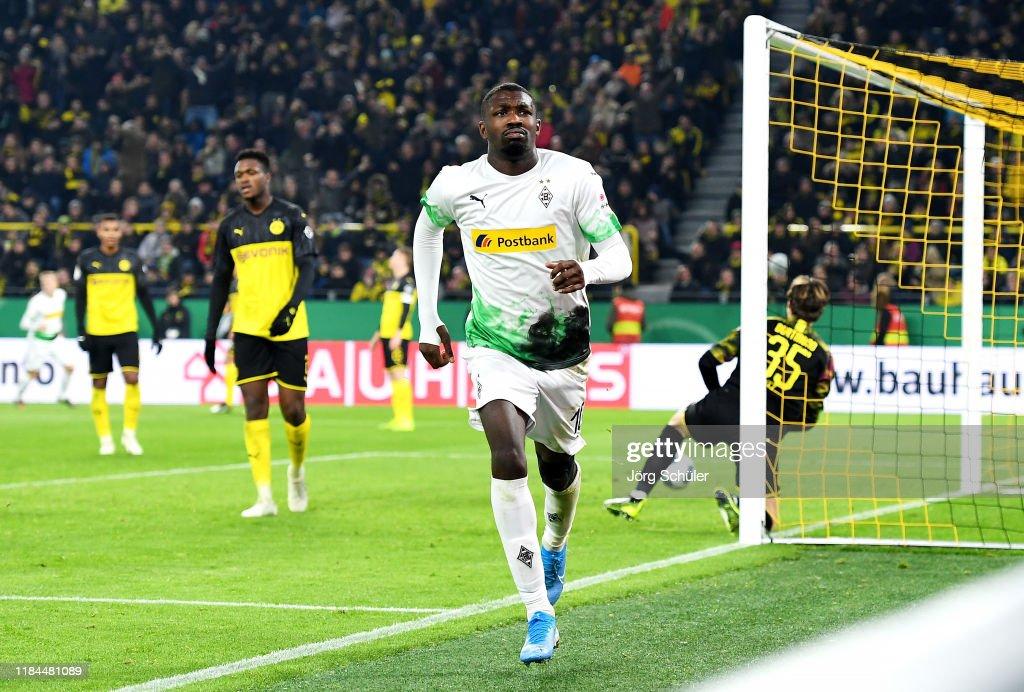 Borussia Dortmund v Borussia Moenchengladbach - DFB Cup : News Photo