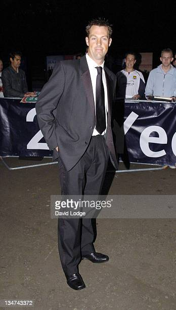 Marcus Trescothick during 2005 Professional Cricketers' Association Awards Dinner Arrivals at Royal Albert Hall London SW7 in London Great Britain