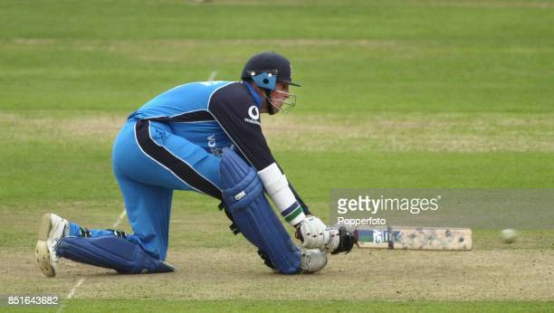 Marcus Trescothick of England batting during the NatWest One Day International match between England and Pakistan at Lord's Cricket Ground in London...