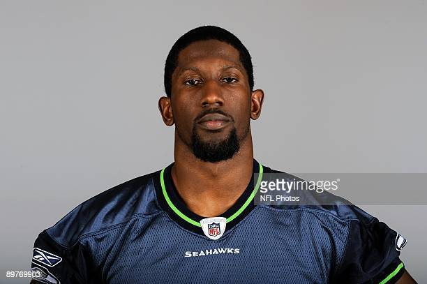 Marcus Trufant of the Seattle Seahawks poses for his 2009 NFL headshot at photo day in Seattle Washington