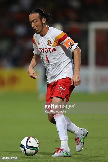 Marcus Tulio Tanaka of Nagoya Grampus in action during the JLeague match between Shimizu SPulse and Nagoya Grampus at IAI Stadium Nihondaira on July...