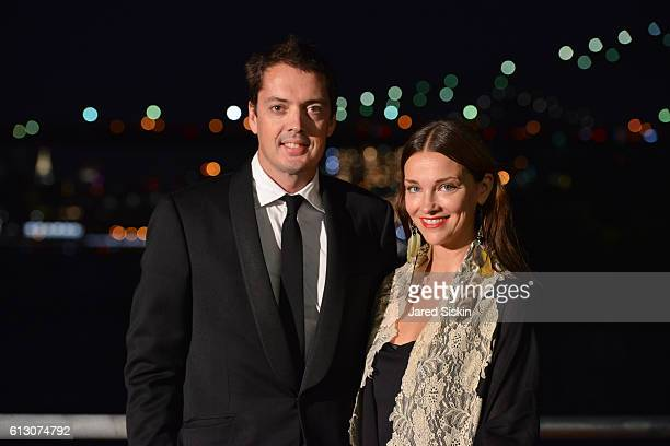 Marcus Wainwright and Glenna Neece attend the Brooklyn Bridge Park Conservancy hosts the Brooklyn Black Tie Ball at Pier 2 at Brooklyn Bridge Park on...
