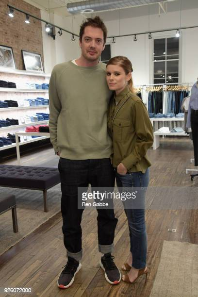 Marcus Wainwright and Kate Mara host an evening at rag bone SoHo benefiting The Humane Society International on March 1 2018 in New York City