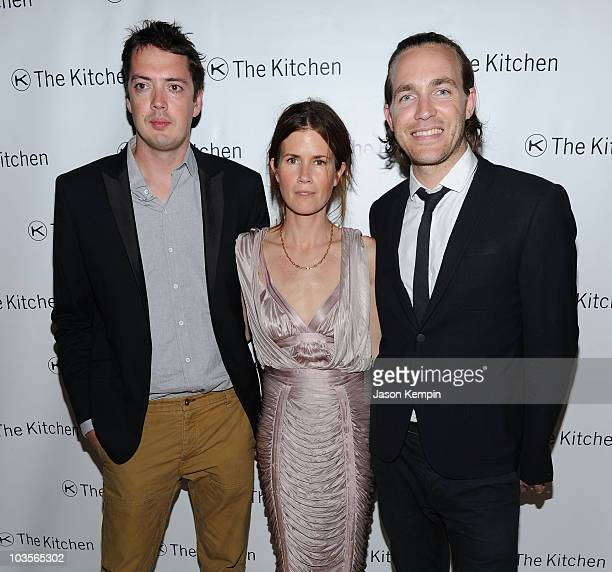 Marcus Wainwright Gucci Westman and David Neville attend The Kitchen's Spring Gala benefit 2010 at Capitale on May 26 2010 in New York City