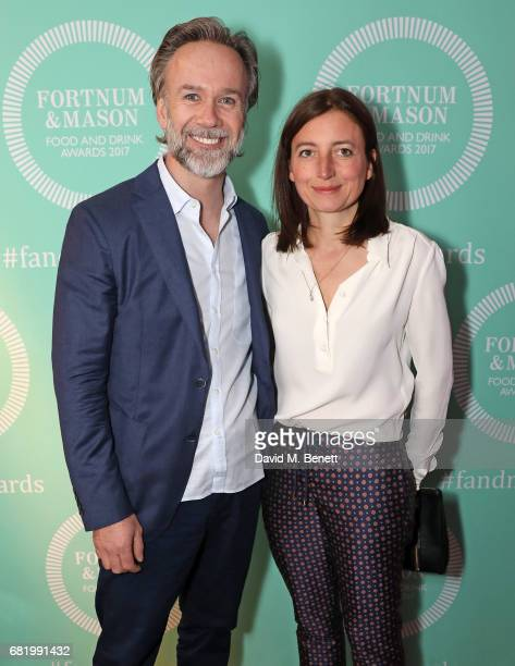 Marcus Wareing and Jane Wareing at the fifth annual Fortnum Mason Food and Drink Awards on May 11 2017 in London England