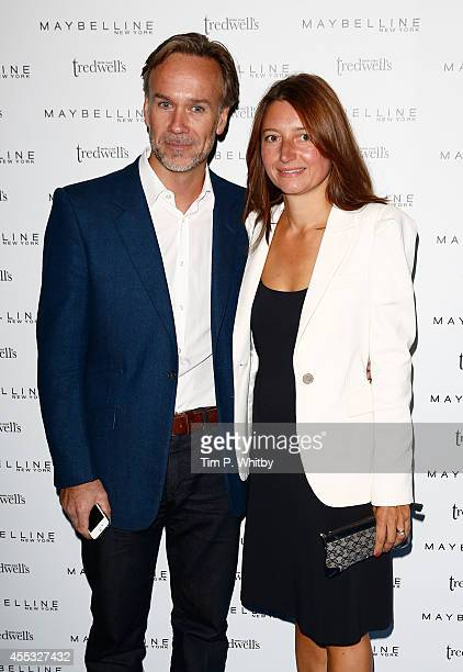 Marcus Wareing and Jane Wareing attend the Maybelline New York party during London Fashion Week Spring Summer 2015 at Tredwell's on September 12 2014...