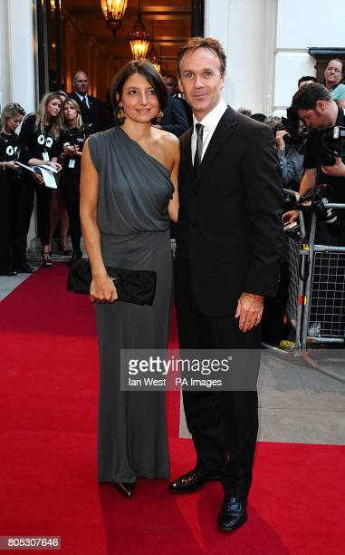 Marcus Wareing and wife Jane arriving for the 2009 GQ Men of the Year Awards at the Royal Opera House Covent Garden
