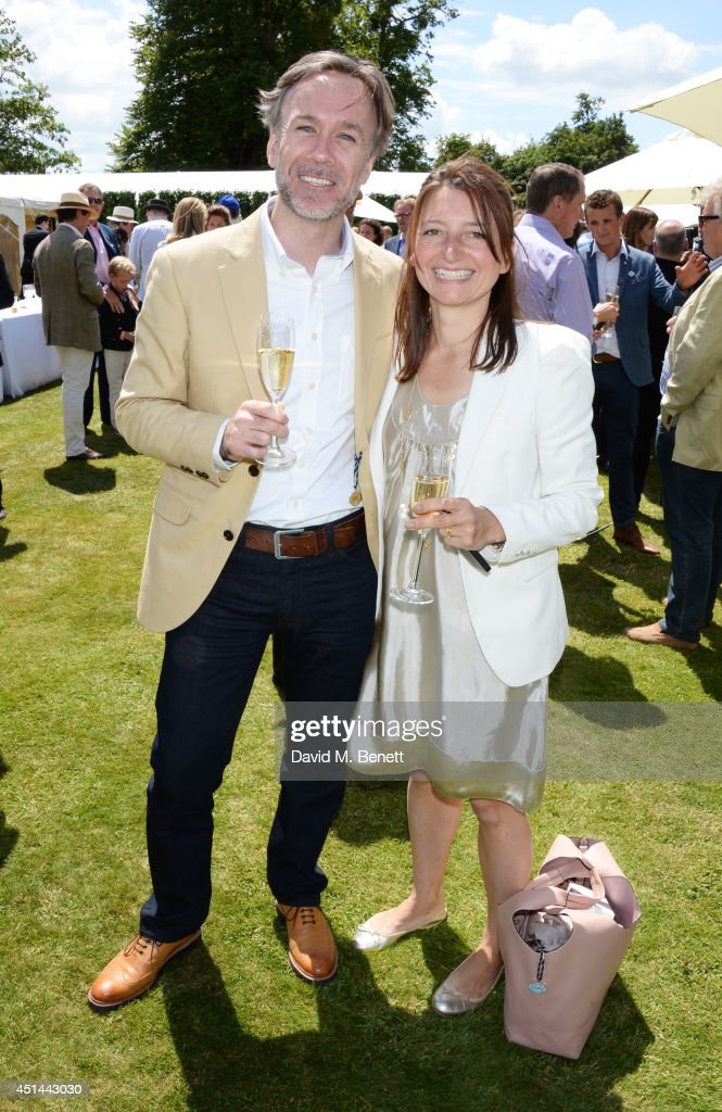 Marcus Wareing (L) and wife Jane Wareing attend the Cartier Style & Luxury Lunch at the Goodwood Festival of Speed on June 29, 2014 in Chichester, England.