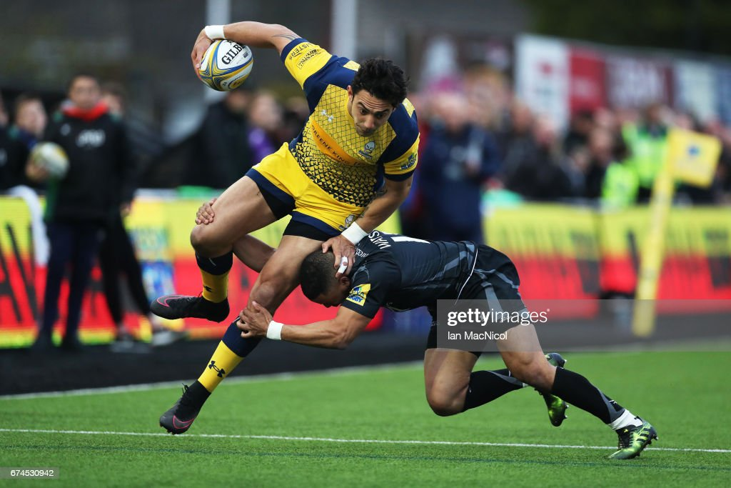 Newcastle Falcons v Worcester Warriors - Aviva Premiership : News Photo