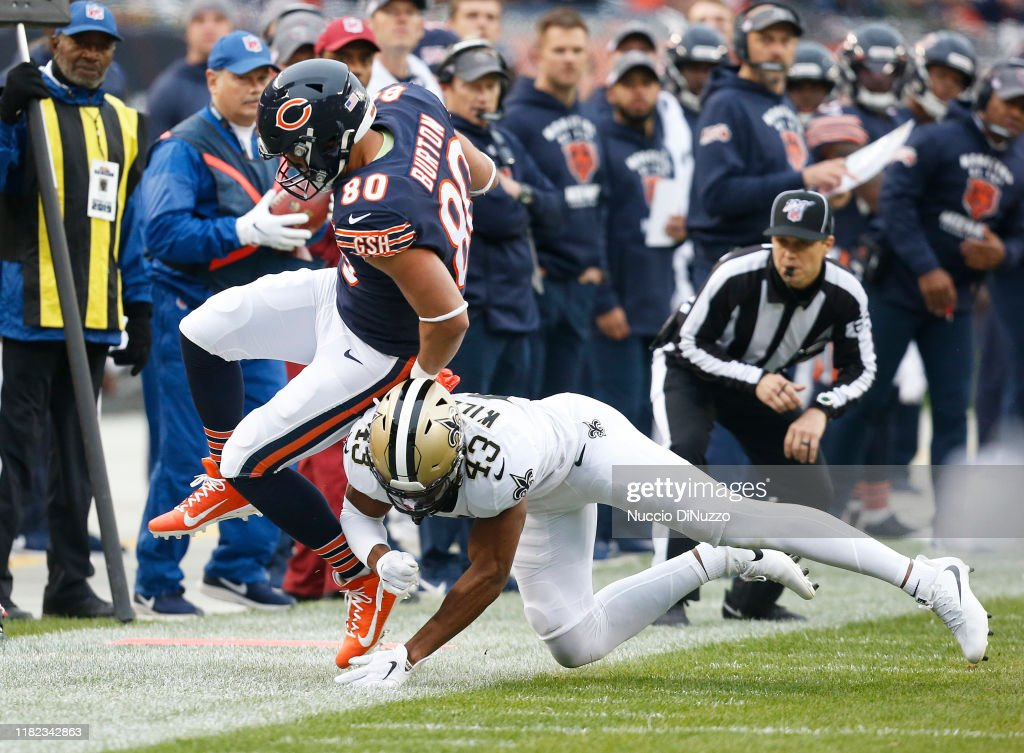New Orleans Saints v Chicago Bears : News Photo