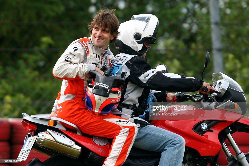 German F1 Grand Prix : Foto jornalística