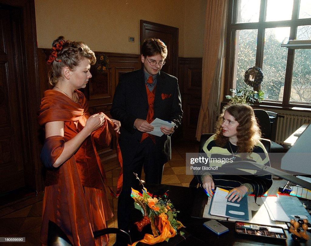 Marcus Zander, Ehefrau Elgin Angela;(links), Standesbeamtin, Hoc ...
