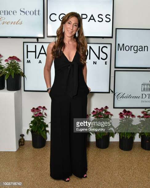 Marcy Bloom attends the Hamptons Magazine 40th Anniversary Bash By Lawrence Scott Events Presented By Compass at Southampton Arts Center on July 21...