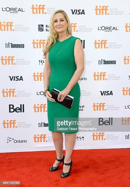 Marcy Gandolfini attends 'The Drop' premiere during the 2014 Toronto International Film Festival at Princess of Wales Theatre on September 5 2014 in...