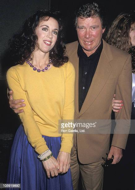 Marcy Lafferty and William Shatner during 6th Annual Celebrity MotherDaughter Fashion Show at Beverly Hilton Hotel in Beverly Hills California United...