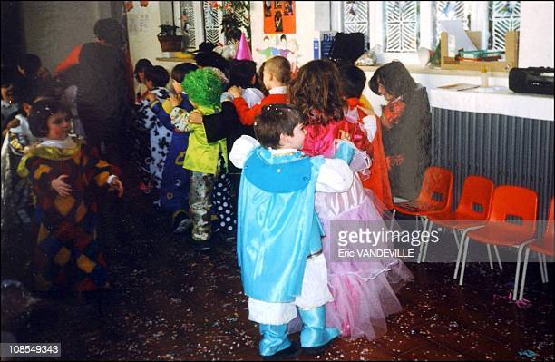 Mardi Gras carnival celebrated at the school last February Giovanni Persichillo dressed in light blue was the first child found alive amongst the...