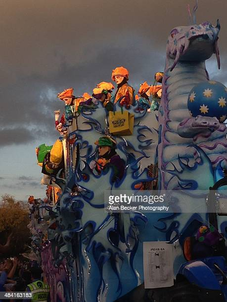 Mardi Gras Float In Endymion Parade New Orleans