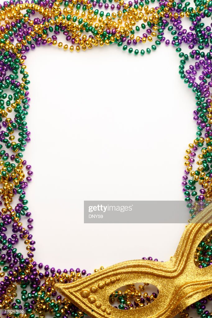 Mardi Gras Frame Stock Photo | Getty Images