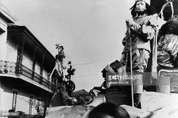 Mardi Gras in New Orleans Februar 1939