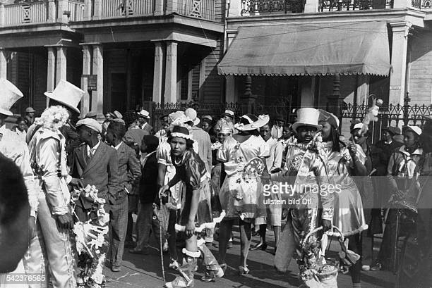 Mardi Gras in New Orleans Februar 1939