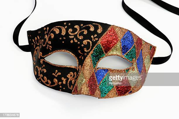 mardi gras mask - evening ball stock pictures, royalty-free photos & images