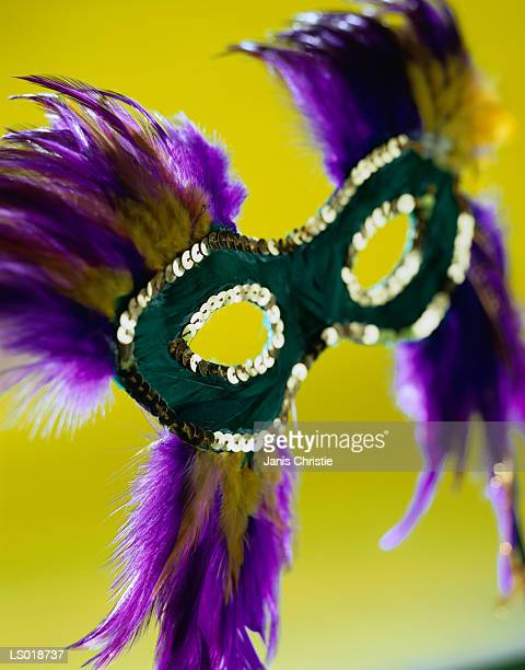 mardi gras mask - gras stock pictures, royalty-free photos & images