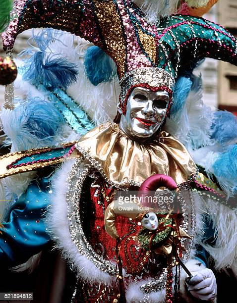 mardi gras, new orleans, louisiana - new orleans mardi gras stock photos and pictures