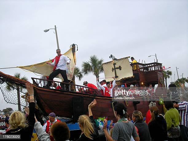CONTENT] Mardi Gras Parade at Pensacola Beach Florida