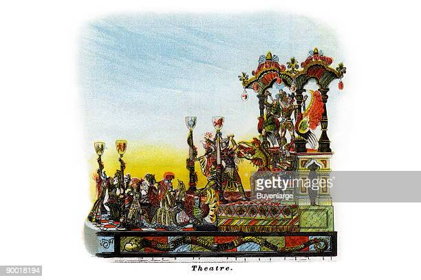 Mardi Gras Parade Float Design from the turn of the century