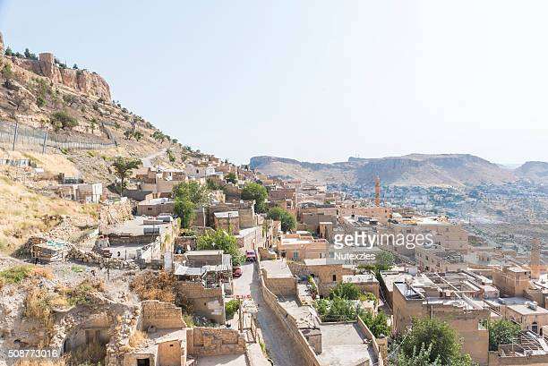 Mardin, a city in south Turkey on a rocky hill near the Tigris River