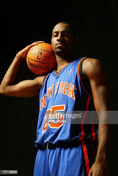 Mardy Collins of the New York Knicks poses for a portrait on September 14 2006 at the IBM Palisades Executive Conference Center in Palisades New York...