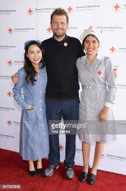 Mardy Fish attends the Red Cross' 5th Annual Celebrity Golf Tournament at Lakeside Golf Club on April 16, 2018 in Burbank, California.