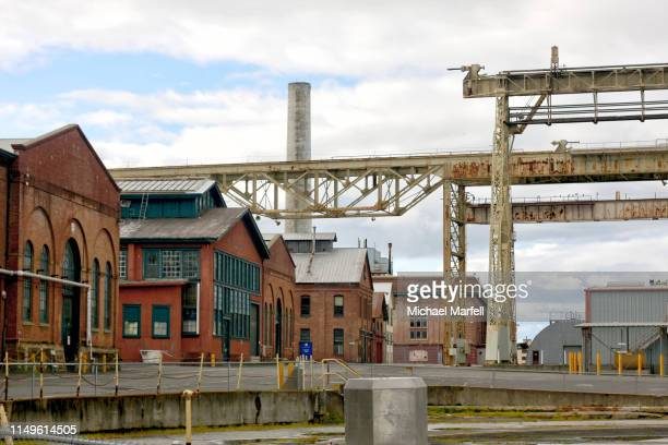 mare island naval shipyard, vallejo, ca - 8 - us army urban warfare stock photos and pictures