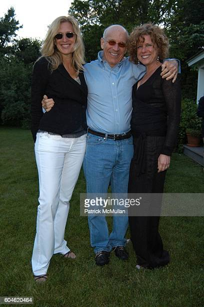 Mare Prince Larry Goldman and Laurie Hock attend LANDSCAPE PLEASURES Benefit party for The Parrish Art Museum Hosted by Charlotte Moss at Home of...