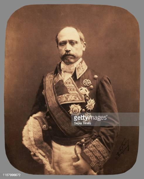 Marechal Serrano Nadar [Gaspard Felix Tournachon] French 1820 1910 negative April 1857 print about 1861 Salted paper print Image 235 x 184 cm