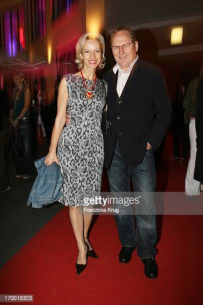 Mareike Carriere and husband Gerd Klement When rooftop hard From The Production Company Mme In Berlin On 260806.