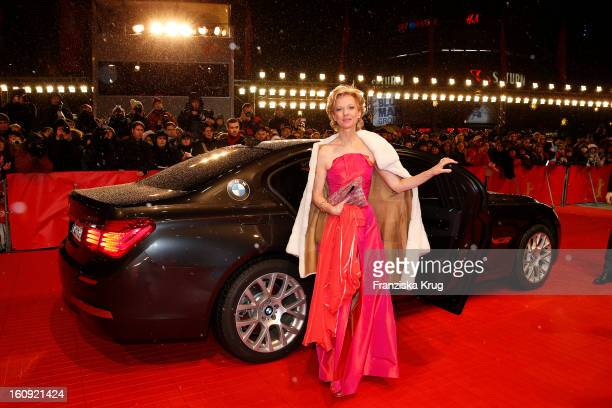 Mareike Carriere arrives at the 'The Grandmaster' Premiere BMW at the 63rd Berlinale International Film Festival at the Berlinale Palast on February...