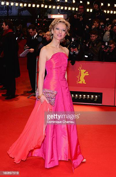 Mareike Carriere attends 'The Grandmaster' Premiere during the 63rd Berlinale International Film Festival at Berlinale Palast on February 7 2013 in...