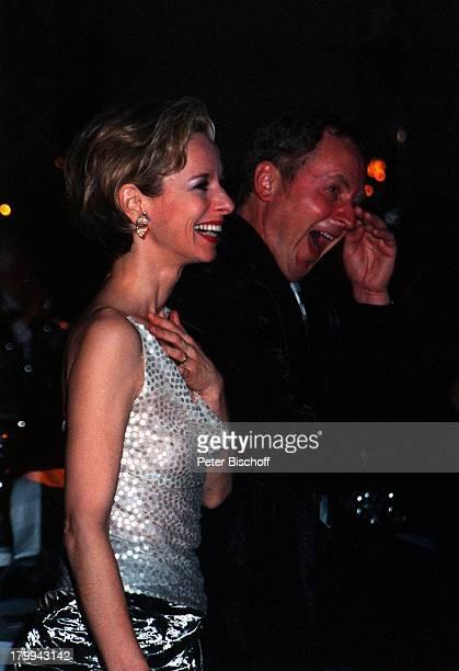 Mareike Carriere Ehemann Gerd KlementUFAFilmball 1999 Swissotel RheinparkNeuss lachen