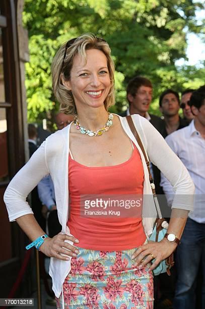 Mareike Carriere In The Bavaria reception When the Munich Film Festival in Munich Bavaria Film Park