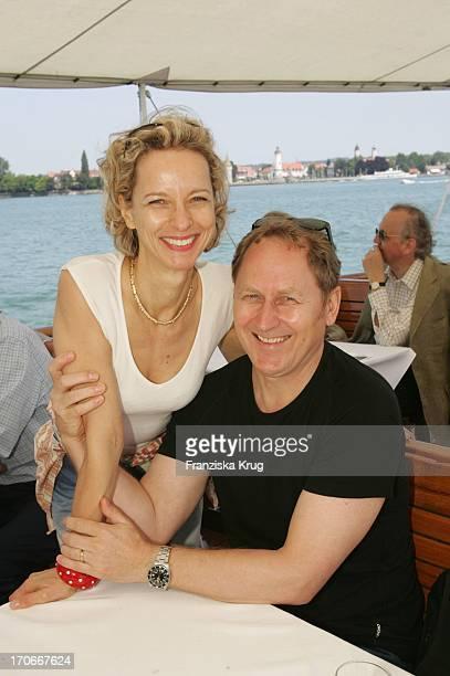 Mareike Carriere Und Ehemann Dr Gerd Klement Bei Der Bootsfahrt Auf Dem Bodensee Anlässlich Der Bregenzer Festspiele Am 220704